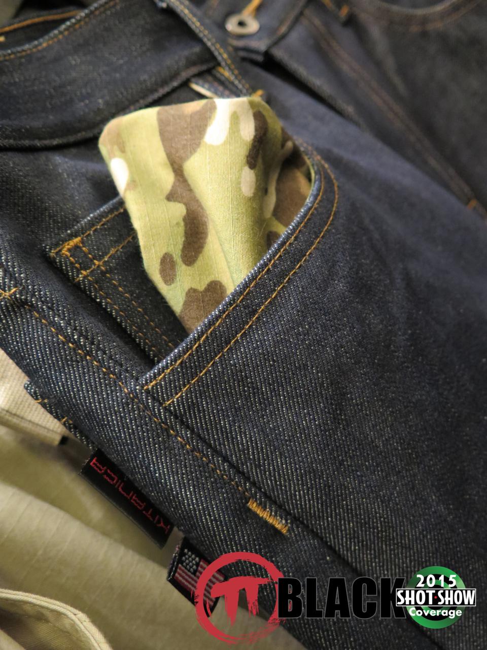 Kitanica Jeans Multcam Pocket Liner
