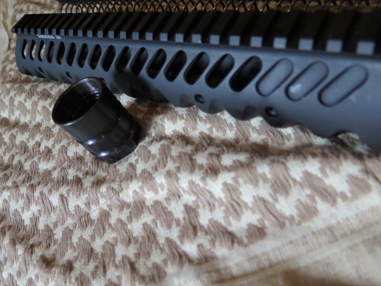 Diamondhead Handguard and Proprietary Barrel Nut