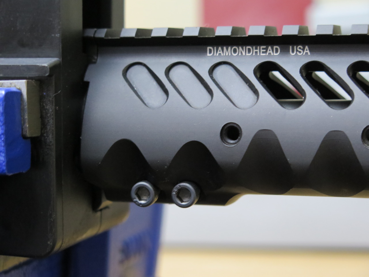 Just Two Screws to Install the Diamondhead Handguard