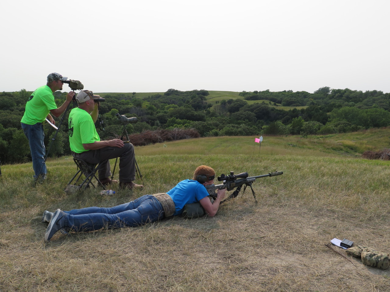 Several Junior Shooters Competed in the Challenge