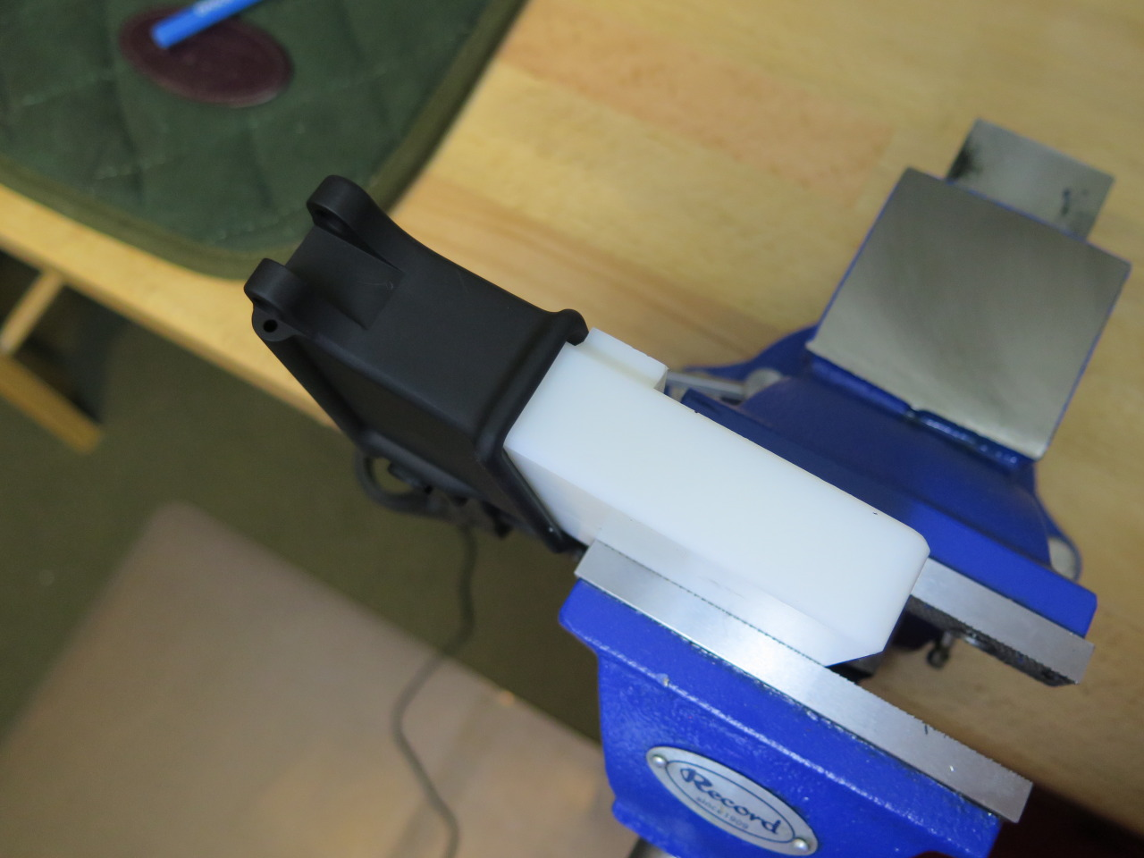 Rotate the Block in the Vise