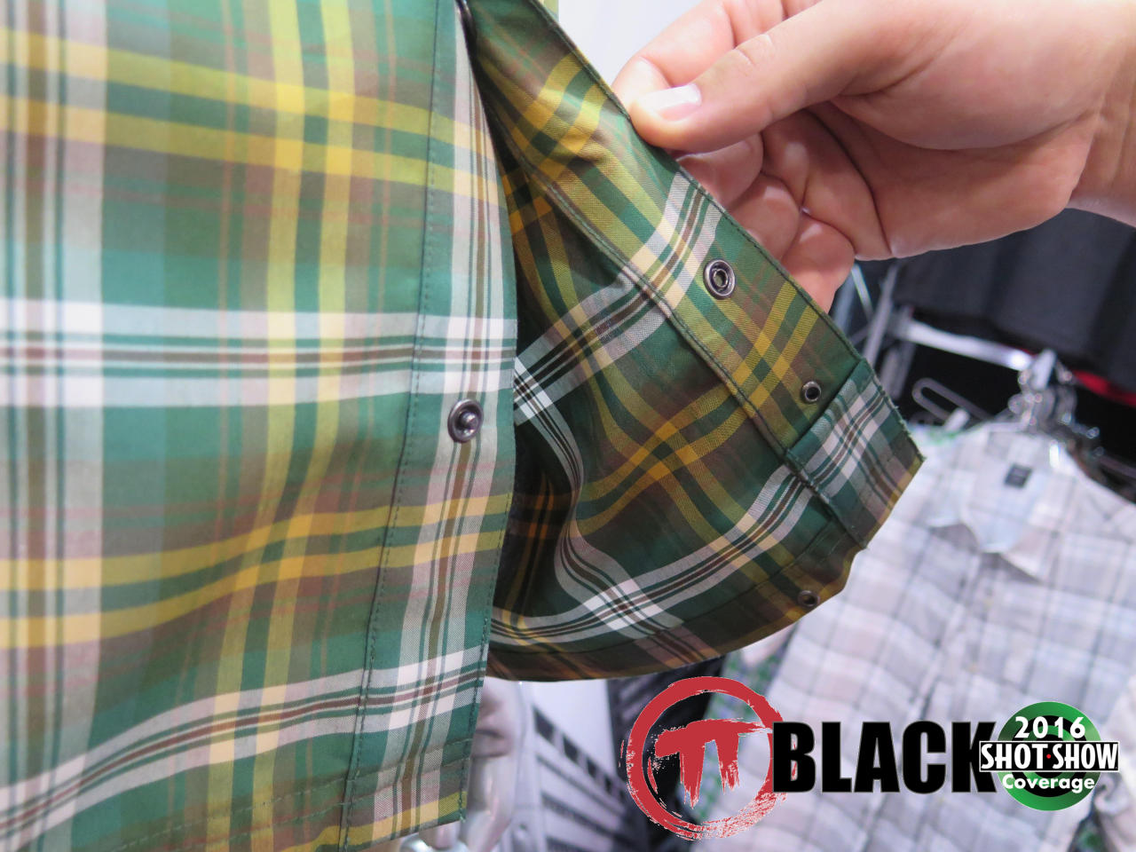 Concealed Carry Detailing on Vertx's New Shirt