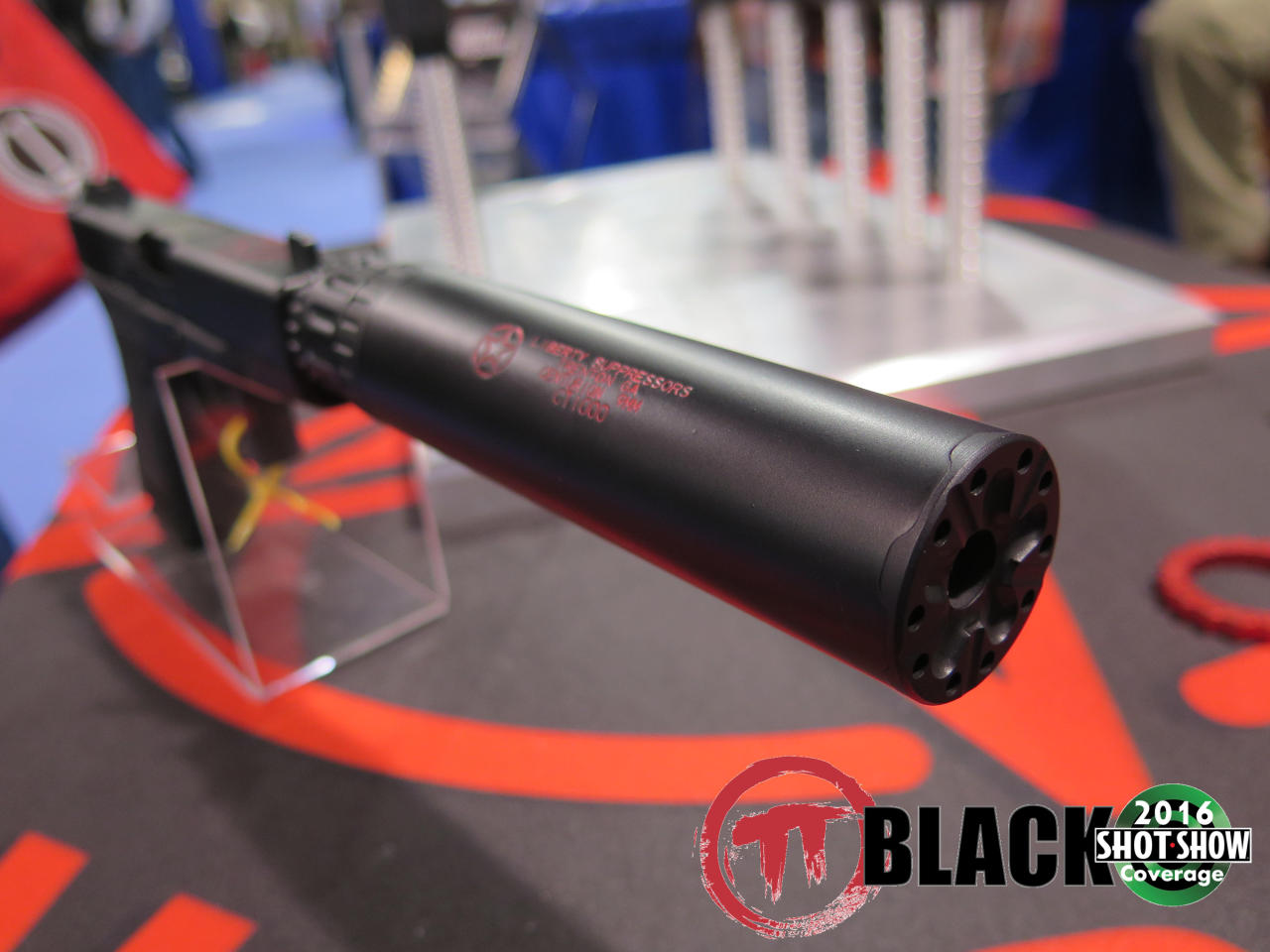 Liberty Suppressors' Shorter Centurion Suppressor