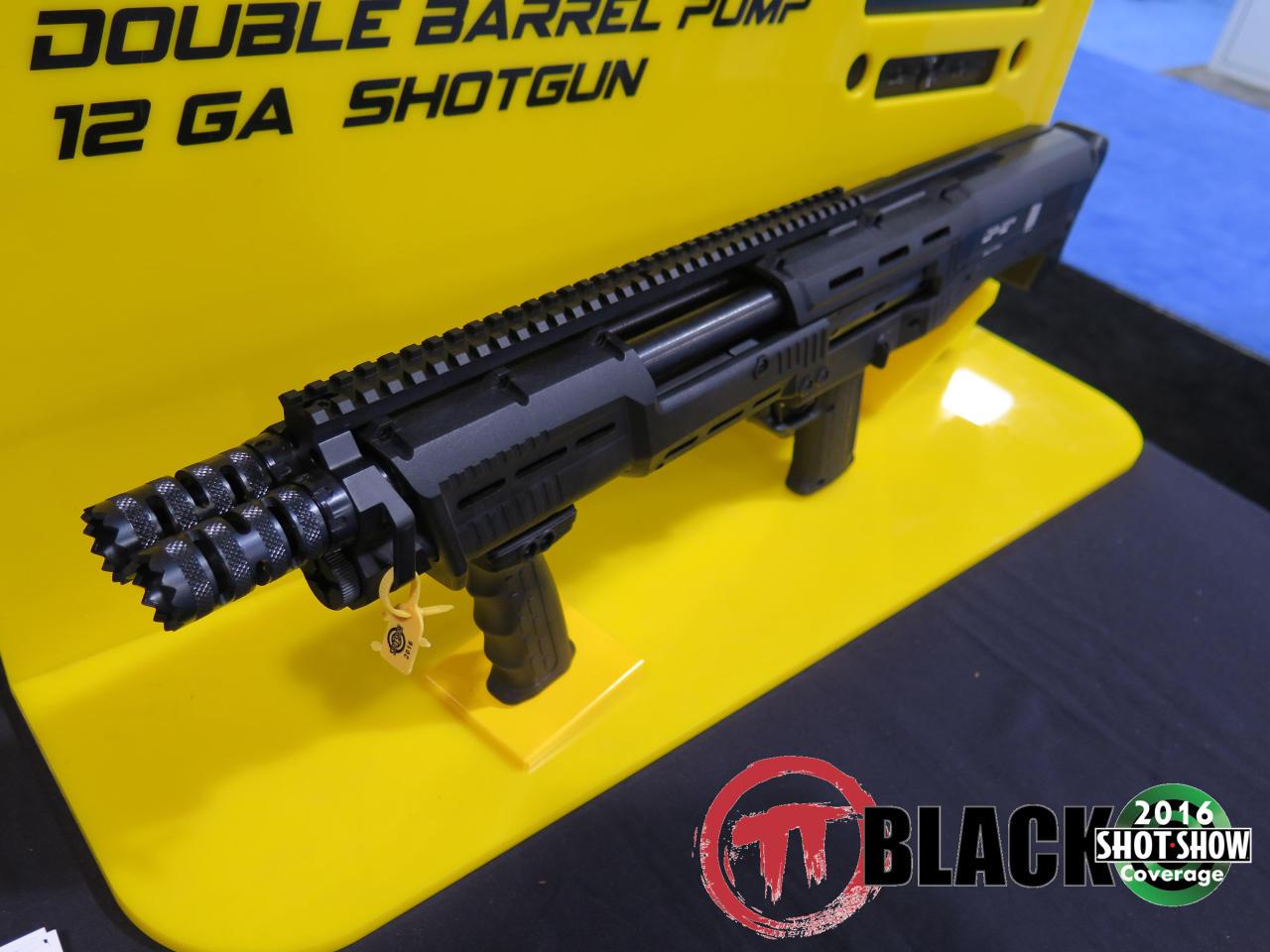 Standard Manufacturing's DP-12 Shotgun